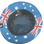 Australia Bucket Hat Inside View