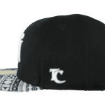 Fiji Snapback Hat Black – Right Side View
