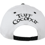 Fiji Snapback Hat White – Back View