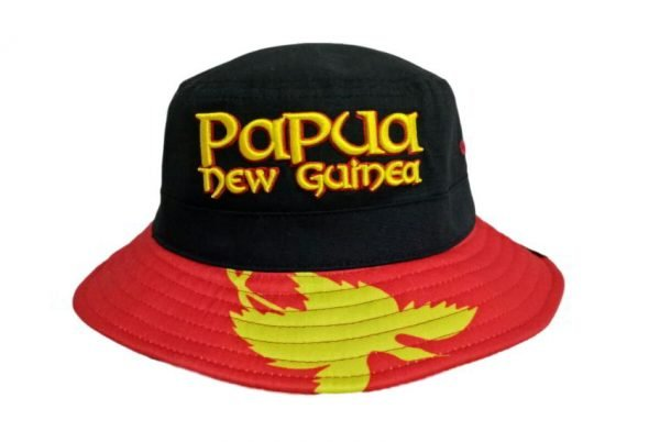 Papua New Guinea Bucket Hat Front View