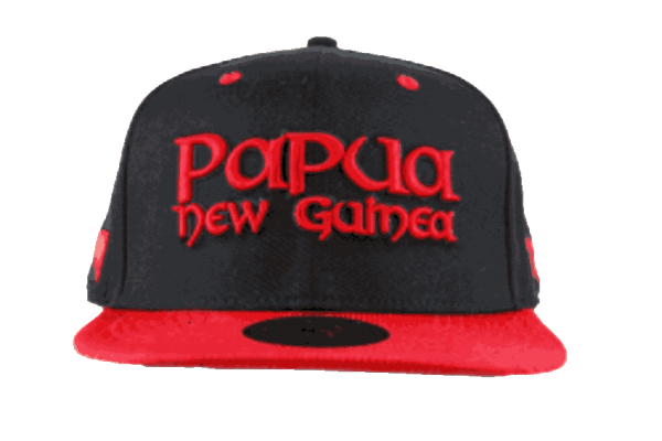 Papua New Guinea Snapback Hat – Front View