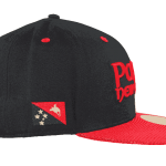 Papua New Guinea Snapback Hat – Left Side View
