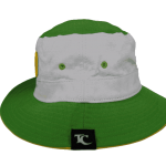 Raro Cook Islands Bucket Hat – Right Side View