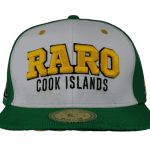 Raro Cook Islands Snapback Hat – Front View