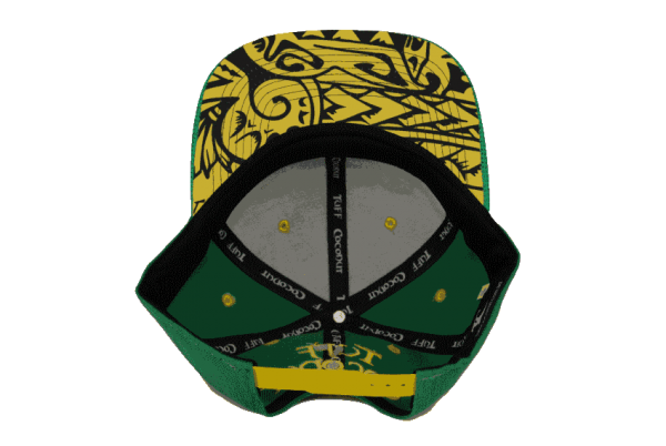 Raro Cook Islands Snapback Hat – Inside View