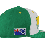 Raro Cook Islands Snapback Hat – Left Side View