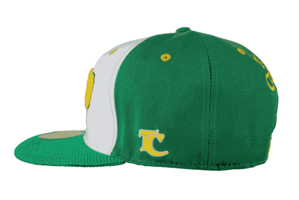 Raro Cook Islands Snapback Hat – Right Side View