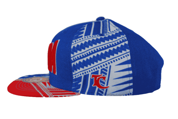 Samoa Snapback Hat Blue – Right Side View
