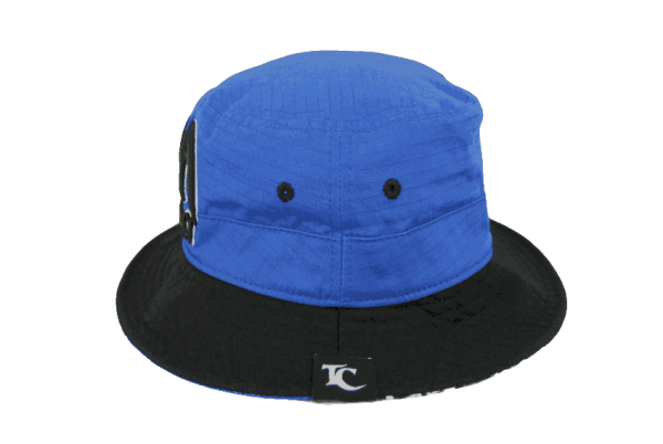 Toa Samoa Bucket Hat Blue&Black – Right Side View