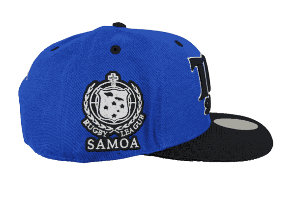 Toa Samoa Word Cup Snapback Hat – Left Side View