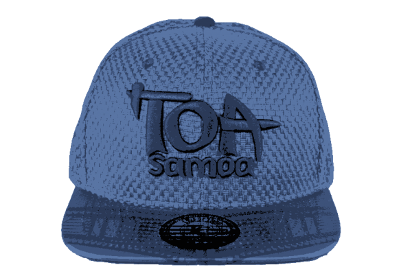Toa Samoa Woven Snapback Hat – Front View.1png