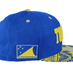 Tokelau Snapback Hat – Left Side View