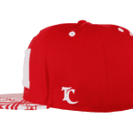 Tonga Snapback Hat Red – Right Side View