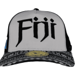 fiji Trucker Mesh Baseball Hat – Front View