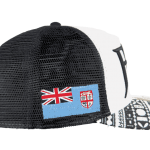 fiji Trucker Mesh Baseball Hat – Left Side View