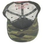 Toa Samoa Camo Rugby League Baseball Cap with Red Embroidery- inside view