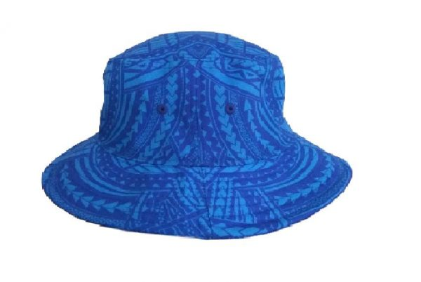 Toa Samoa Elei Bucket Hat Side View