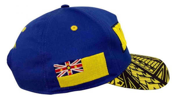 NIUE Baseball Cap flag side
